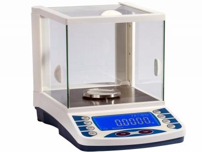 0.1mg External Calibration Laboratory Electronic Balance