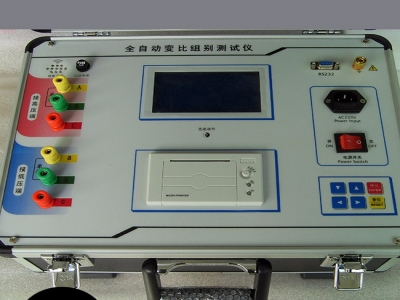Full automatic transformer TTR testing equipment turn ratio meter