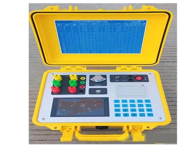 Transformer capacity characteristic tester