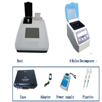 KR3900 Portable Water Quality Multi-parameter Meter