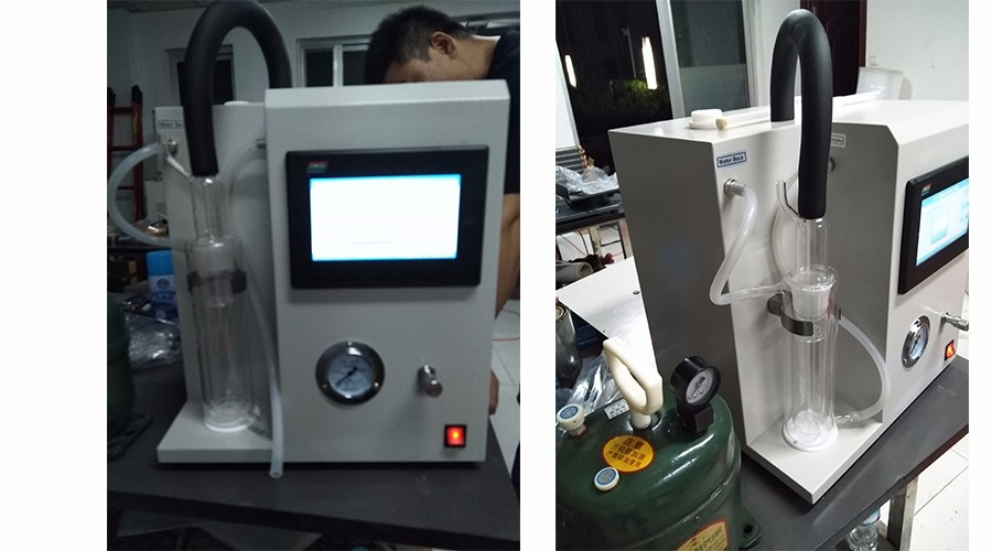 Customers from Uruguay purchased air release value tester