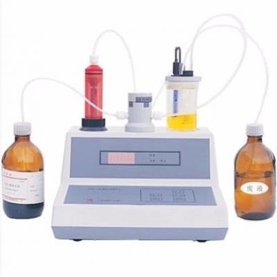 Laboratory karl fischer volumetric titration apparatus